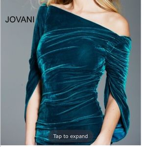 Jovani size 4 teal gown